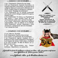 [Colômbia] Medellín: Programação da 4ª Feira Anarquista do Livro e da Publicação