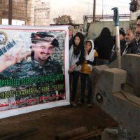 [Curdistão] Cerimônia e um comboio para o retorno dos restos mortais de Michael Israel trazidos de Rojava