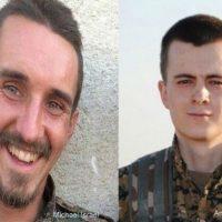 [Curdistão] Voluntários Internacionais do YPG em luta contra o ISIS assassinados por aviões de guerra turcos no norte de Raqqa