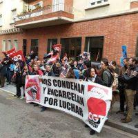 [Espanha] Concentração em frente ao consulado grego em Barcelona