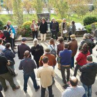 [Espanha] Ferrer, Ascaso e Durruti. Homenagem no cemitério de Montjuïc