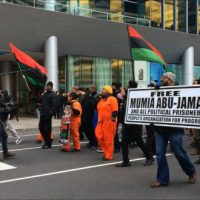 [EUA] Ativistas da Filadélfia reivindicam remédios vitais para Mumia Abu-Jamal