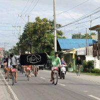 """[Filipinas] Ação da Massa Crítica em Baliwag: """"Bicicletas contra o carvão e combustíveis fósseis"""""""