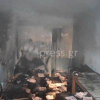 [Grécia] Antifascistas atacam escritório de partido fascista