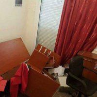 [Grécia] Ilha de Quios: Ataque antifascista em sede do Aurora Dourada
