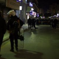 [Grécia] Patras, 10 de dezembro de 2016: Anarquistas realizam concentração antifascista para anular evento neonazi