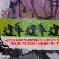 [Colômbia] Ação direta contra suas leis e terror