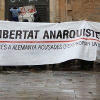 [Espanha] Barcelona: Crônica da manifestação pela liberdade das anarquistas presas na Alemanha