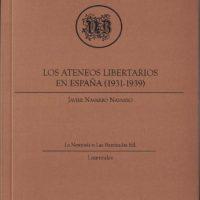[Espanha] Lançamento: Os ateneus libertários na Espanha (1931-1939)