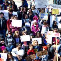 [EUA] Anarco-crianças Marcham Contra Trump em Asheville