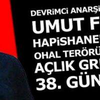 [Grécia] Comunicado da Organização Política Anarquista sobre a prisão do anarquista Hüseyin Civan e a greve de fome do anarquista Umut Firat
