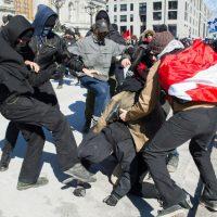 [Canadá] Montreal: Relatório da manifestação antifascista do 4 de março