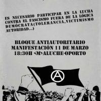 [Espanha] Madrid: Nem fascismo, nem democracia