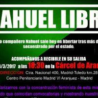[Espanha] Nahuel será solto após 16 meses de prisão