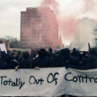 [EUA] Filadélfia: O black bloc cancela manifestação de Trump liderada por neo-nazis