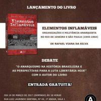[Guarujá-SP] Lançamento de livro e debate ocorrerão neste domingo na Biblioteca Carlo Aldegheri