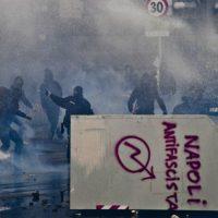[Itália] Em Nápoles, protesto contra visita do líder do partido de extrema-direita Liga Norte acaba em distúrbios