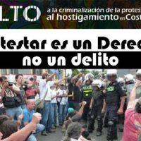 Jornada Internacional em Solidariedade com os detidos e processados pelo Estado da Costa Rica