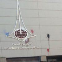 """[Porto Alegre-RS] Ação """"decorativa"""" em solidariedade ao Centro Social Autônomo """"La Solidaria"""""""