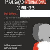 [Portugal] 8M: Paralisação Internacional de Mulheres em Coimbra