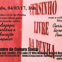 """[São Paulo-SP] """"Pedagogia Libertária e Educação Popular"""" em destaque neste sábado no CCS"""