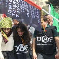 [Turquia-Curdistão] Anarquistas da DAF participam das celebrações do Newroz, o Ano Novo curdo
