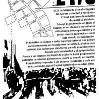 [Uruguai] Tirem suas mãos de nossos centros sociais!
