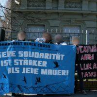 [Alemanha] Manifestação em solidariedade aos anarquistas presos na Bielorrússia