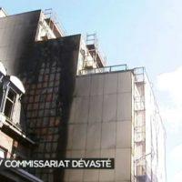 [Bélgica] Liège: A beleza de queimar uma delegacia