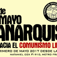 [Chile] Santiago: 1º de Maio Anarquista