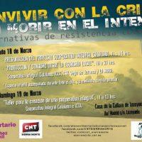 """[Espanha] Jornadas """"Conviver com a crise, sem morrer na tentativa"""""""