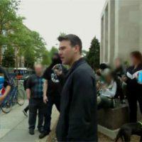 [EUA] Washington, DC: Antifascistas se opõem a tentativas de divulgação neonazista na Universidade