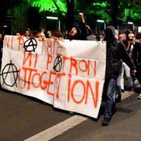 """[França] """"Geração Ingovernável"""": Estudantes continuam protestos e bloqueios de escolas contra a farsa eleitoral"""