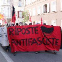 """[França] Manifestação antifascista em Soutlz: """"Le Pen vá embora, Soutlz não quer você"""""""