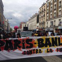 [França] Protesto contra Marine Le Pen em Paris