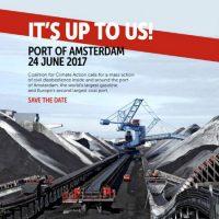 [Holanda] Bloqueio e Acampamento no Porto de Carvão de Amsterdã, de 23 a 26 de junho