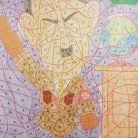 [Holanda] Ilustração de Adolf Hitler em livro para colorir gera polêmica