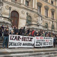 [País Basco] Mani ruidosa em defesa do espaço liberado e libertário Izar Beltz