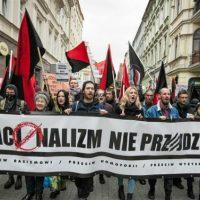 [Polônia] Manifestação antifascista reúne centenas de pessoas em Poznan. O nacionalismo não passará!