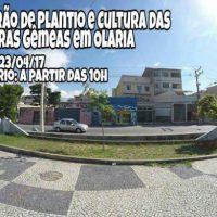 [Rio de Janeiro-RJ] Mutirão de Plantio e Cultura das Quadras Gêmeas em Olaria