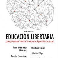 [Chile] Educação Libertária: Propostas para a Emancipação Social