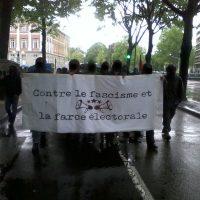 [França] Relato sobre a manifestação de 6 de maio: Nem pátria, nem patrão! Nem Le Pen, nem Macron!