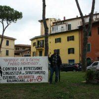 [Itália] Manifestação no 45º aniversário da morte do anarquista Franco Serantini reúne dezenas de pessoas