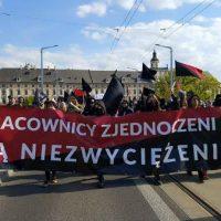 [Polônia] Fotorreportagem do Primeiro de Maio anarquista em Wroclaw