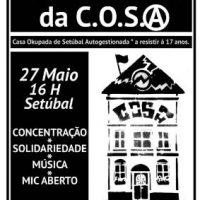 [Portugal] Setúbal: Stop despejo da C.O.S.A.