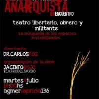 [Argentina] Paraná: 1º Encontro da Cátedra Aberta do Pensamento Anarquista 2017