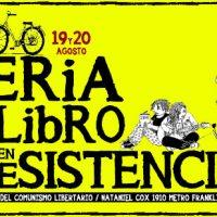[Chile] Convocatória: Feira do Livro em Resistência