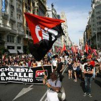 [Espanha] 27 de Maio: CNT nas Marchas da Dignidade