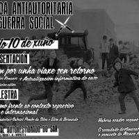 [Galícia] Compostela: Jornada Antiautoritária no próximo 10 de junho no CSA do Sar