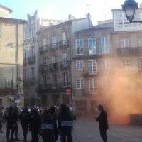 [Galícia] Crônica sobre dois dias de luta, depois do despejo do CSOA Escárnio e Maldizer em Compostela